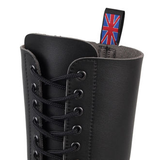 boots NEVERMIND - 20 eyelet - Black Synthetic