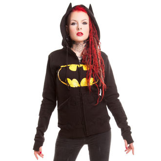 hoodie women's Batman - BM Revenge - POIZEN INDUSTRIES, POIZEN INDUSTRIES, Batman