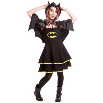 dress women BATMAN - Batman Cape - Black, POIZEN INDUSTRIES, Batman