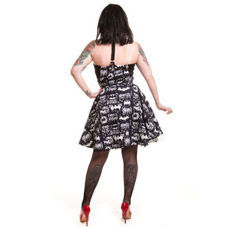 dress women BATMAN - Graffiti - Batman - Black, POIZEN INDUSTRIES, Batman
