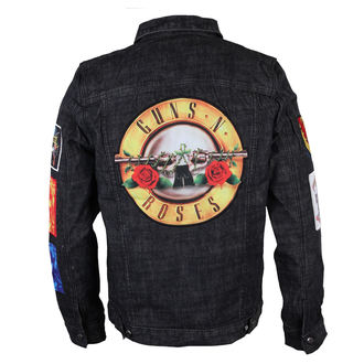 spring/fall jacket men's Guns N' Roses - Classic - BRAVADO - 12162106