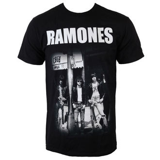 t-shirt metal men's Ramones - Legends CBGB - BRAVADO - 95221172