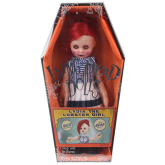 doll LIVING DEAD DOLLS - Lydia The Lobster girl - MEZ93330-5