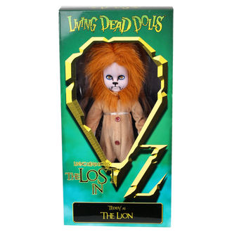doll LIVING DEAD DOLLS - Teddy as The Lion - MEZ94510-4