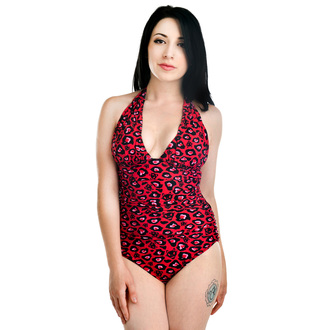 swimsuits women TOO FAST - Purrfect LEOPARD - Black - WSWMO-T-PURR
