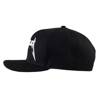 cap Metallica - Logo - Black - LIVE NATION - MTLSBCDAMP