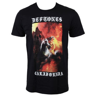 t-shirt metal men's Deftones - California - LIVE NATION - PE13329TSBP