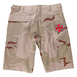 shorts men BLACK HEART - Woodland - Red Cross - Camo - BH156