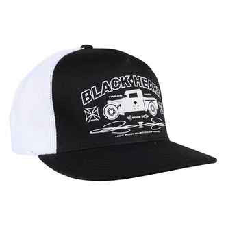 cap BLACK HEART - Pick Up - black / white, BLACK HEART