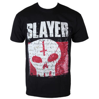 t-shirt metal men's Slayer - Undisputed Attitude Skull - ROCK OFF - SLAYTEE32MB