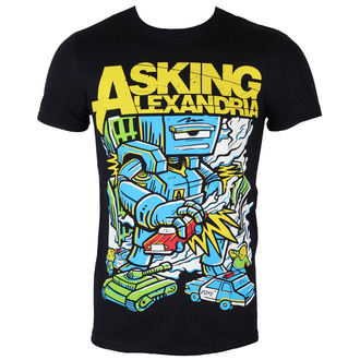 t-shirt metal men's Asking Alexandria - Killer Robot - ROCK OFF - ASKTS13MB