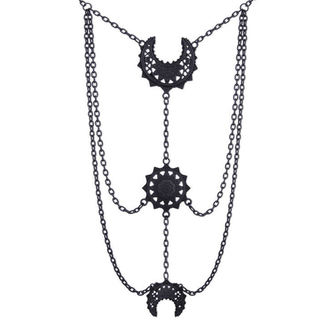 collar Restyle - Oriental Moon Phases Black, RESTYLE
