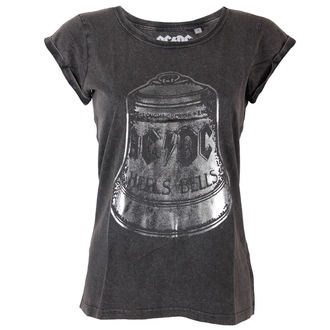 t-shirt metal women's AC-DC - Hells - ROCK OFF - ACDCTS26LAW
