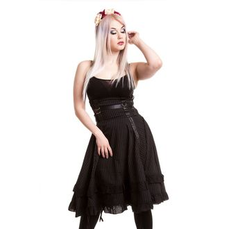 skirt women's VIXXSIN - Stray Cat - Black, VIXXSIN