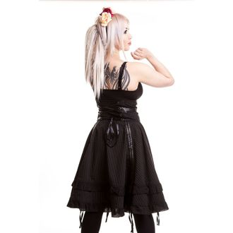 skirt women's POIZEN INDUSTRIES - Stray Cat - Black - POI118