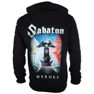 hoodie men's Sabaton - Heroes Czech republic - CARTON - BKZ_675