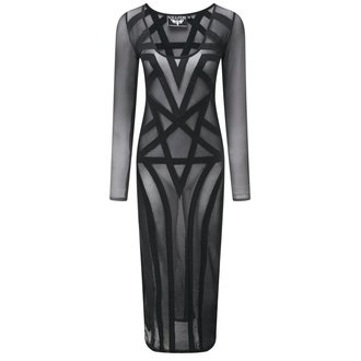 dress women KILLSTAR - Zandra Mesh - Black - KIL321