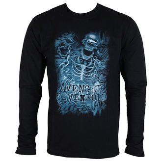 t-shirt metal men's Avenged Sevenfold - Chained Skeleton - ROCK OFF, ROCK OFF, Avenged Sevenfold
