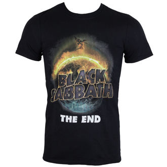 t-shirt metal men's Black Sabbath - The End - ROCK OFF - BSTS20MB