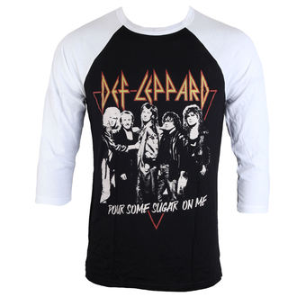 t-shirt metal men's Def Leppard - POURING SUGAR - LIVE NATION