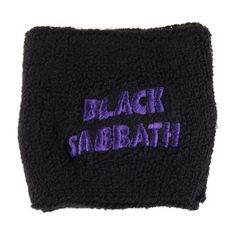 wristband BLACK The SABBATH - PURPLE WAVY LOGO - RAZAMATAZ, RAZAMATAZ, Black Sabbath