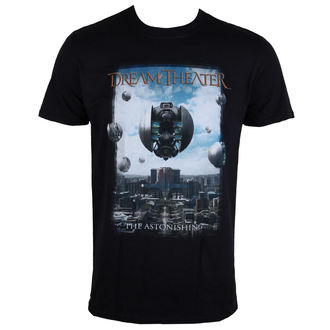 t-shirt metal men's Dream Theater - ASTONISHING - LIVE NATION - PEDT1010