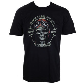 t-shirt metal men's Black Label Society - PLASTIC HEAD - PLASTIC HEAD - PH9847