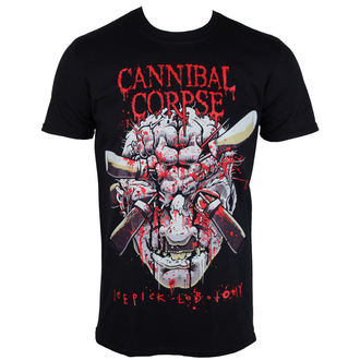 t-shirt metal men's Cannibal Corpse - Ice Pick Lobotomy - PLASTIC HEAD - PH9853