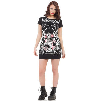 dress women JAWBREAKER - Black Skeleton - DRA8217
