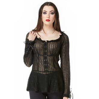 shirt women's VOODOO VIXEN - Black - TPA1735