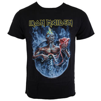 t-shirt metal men's Iron Maiden - CIRCLE - AMPLIFIED, AMPLIFIED, Iron Maiden