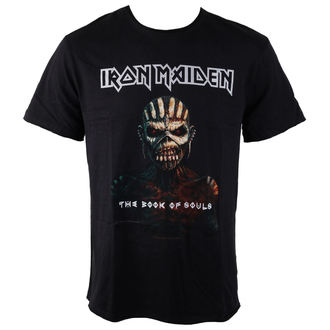 t-shirt metal men's Iron Maiden - BOOK OF SOULS - AMPLIFIED, AMPLIFIED, Iron Maiden
