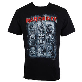 t-shirt metal men's Iron Maiden - EDDIES - AMPLIFIED, AMPLIFIED, Iron Maiden