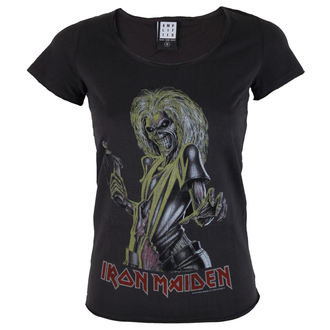 t-shirt metal women's Iron Maiden - KILLER - AMPLIFIED - AV601IMK