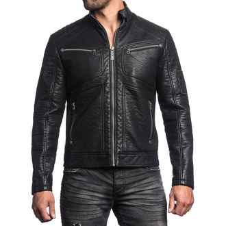 men jacket spring/fall AFFLICTION - Death Race - BK, AFFLICTION