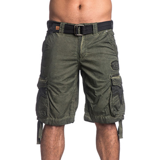shorts men AFFLICTION - Rusted Template - MG, AFFLICTION