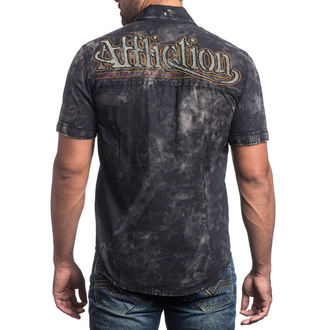 shirt men AFFLICTION - No Rival - BK, AFFLICTION