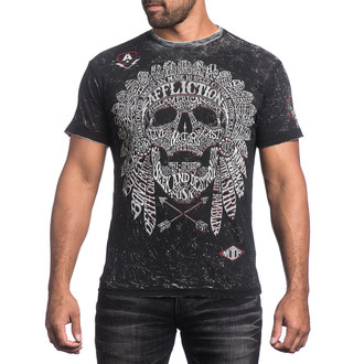 t-shirt hardcore men's - Native Tongue - AFFLICTION, AFFLICTION