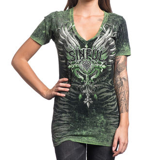 t-shirt hardcore women's - Sinful Undying - AFFLICTION, AFFLICTION