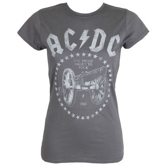 t-shirt metal AC-DC - FTA2R - Charcoal - LIVE NATION - PE13928SKCP