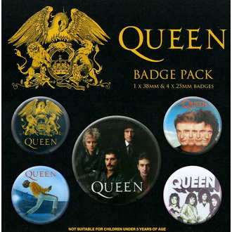 Badges QUEEN, NNM, Queen