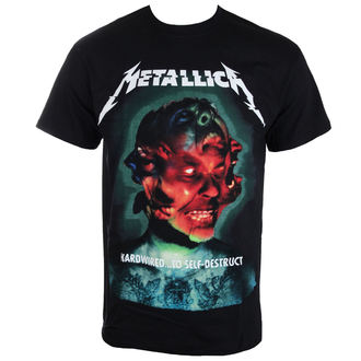 t-shirt metal men's Metallica - Hardwired Album Cover - NNM - RTMTLTSBHCO