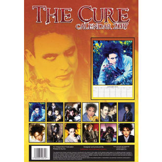 calendar for 2017 - Cure, Cure