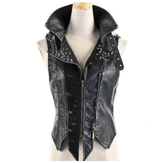 vest women's PUNK RAVE - Steampunk Spikes, PUNK RAVE