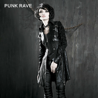 coat women's spring/fall PUNK RAVE - Poisonblack, PUNK RAVE