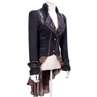 jacket (suit jacket) women's PUNK RAVE - UMBRA - BROWN, PUNK RAVE