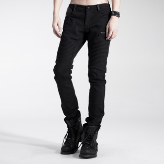 pants men PUNK RAVE - Black Engine, PUNK RAVE