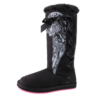 fug boots women's - Chase The Dream - METAL MULISHA - FA6784001.01_BLK