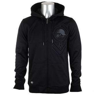 hoodie men's - Lead Custom - METAL MULISHA - FA6510009.01_BLK