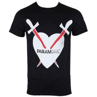 t-shirt metal men's Paramore - Daggers - PLASTIC HEAD, PLASTIC HEAD, Paramore